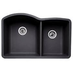 raleigh black granite sinks